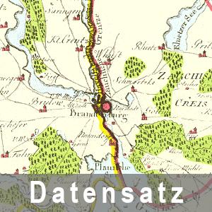 Ausschnitt aus dem Churmaerckschen Weichbild Brandenburg, 1780