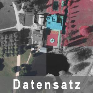 Ausschnitt aus Digitale Orthophotos (DOP) in Schwarz-Weiss, Farbinfrarot (CIR), Farbe (RGB) und Schwarz-Weiss-Infrarot
