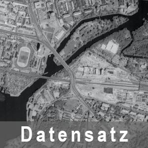 Ausschnitt aus einem digitalen Orthophoto (DOP50g)