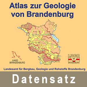 Ausschnitt aus dem Atlas zur Geologie von Brandenburg