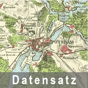 Ausschnitt aus der Rundkarte Potsdam