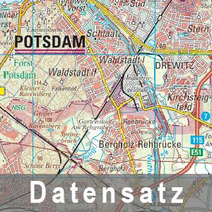Ausschnitt aus der Regionalkarte