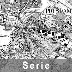 Beispielausschnitt aus den Karten des Deutschen Reiches 1 : 25 000 - Messtischblatt