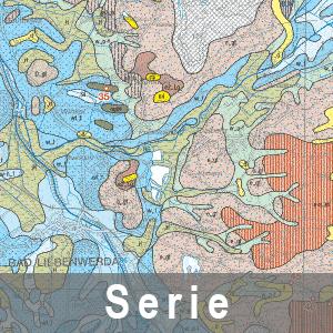 Beispielausschnitt aus der Geologische Übersichtskarte 1 : 100 000 (Karte mit Darstellung ausgewählter Geotope und geologischer Objekte)