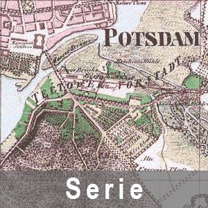 Beipielausschnitt aus einem Preußischen Ur-Messtischblatt
