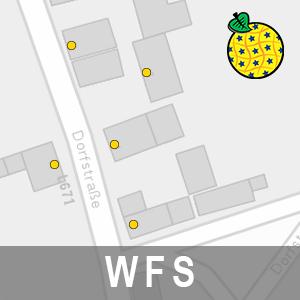 Adressen ALKIS Brandenburg (INSPIRE-WFS)