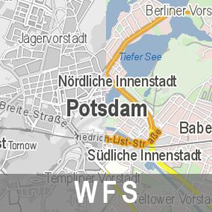 ATKIS Digitales Basislandschaftsmodell NAS-konform Brandenburg (WFS)