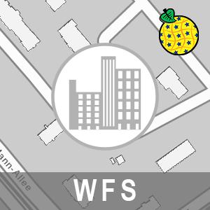 Gebäude - 2D ALKIS Brandenburg (INSPIRE-WFS)
