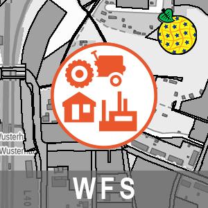 Existierende Bodennutzung ALKIS Brandenburg (INSPIRE-WFS)