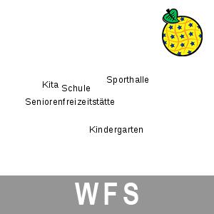Geografische Bezeichnungen ALKIS Brandenburg (INSPIRE-WFS)