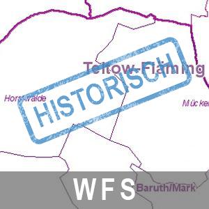 Verwaltungsgrenzen historisch Brandenburg mit Berlin (WFS)
