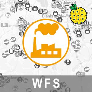 Interoperabler INSPIRE Download-Service: Production And Industrial Facilities / Anlagen nach Bundesimmissionsschutzgesetz in Brandenburg (WFS-PF-BIMSCHG)