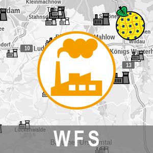 INSPIRE Download-Service: Production and Industrial Facilities / Blockheizkraftwerke und Verbrennungsmotoranlagen im Land Brandenburg (WFS-PF-BHKW)