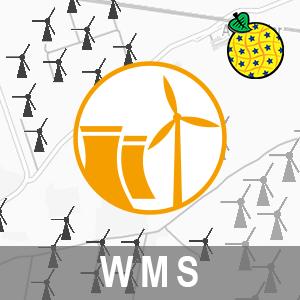INSPIRE View Service: Energy Resources / Windkraftanlagen in Brandenburg (WMS-ER-WKA)