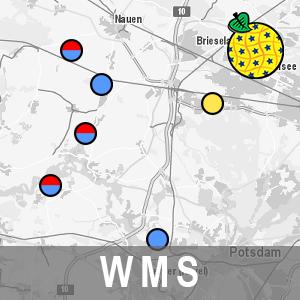 Deponien in Brandenburg INSPIRE View-Service (WMS-LFU-DEPO)