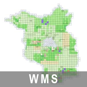 Aktualitätsübersichten der LGB-Produkte Brandenburg (WMS)