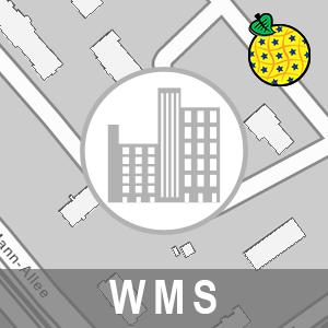 Gebäude - 2D ALKIS Brandenburg (INSPIRE-WMS)
