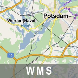 Digitales Navigationsmodell 2012 Brandenburg mit Berlin (WMS)
