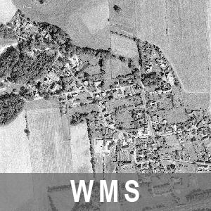 Digitale Orthophotos 1m Bodenauflösung Grau 2001-2005 Brandenburg (WMS)