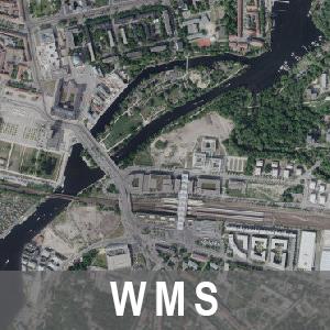 Digitale Orthophotos 20cm Bodenauflösung Farbe 2016-2018 Brandenburg (WMS)