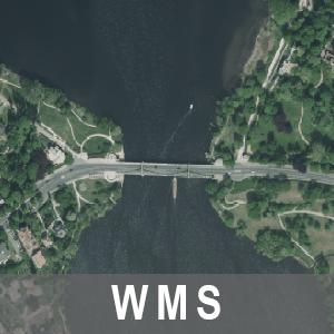 Digitale Orthophotos 20cm Bodenauflösung Farbe Brandenburg mit Berlin (WMS)
