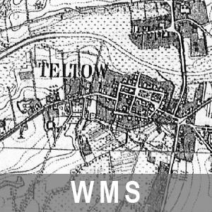 Karte des Deutschen Reiches 1 : 25 000 Cache Brandenburg mit Berlin (WMS)