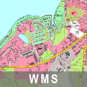 Digitale Topographische Karte 1 : 10 000 Farbe Cache Brandenburg mit Berlin (WMS)