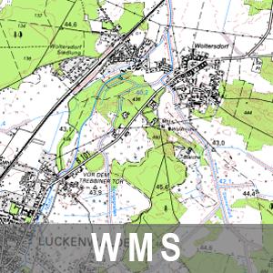 Vorläufer der Digitalen Topographischen Karte 1 : 50 000 Farbe Brandenburg mit Berlin (WMS)