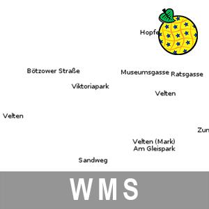 Geografische Bezeichnungen ATKIS Digitales Basislandschaftsmodell Brandenburg (INSPIRE-WMS)