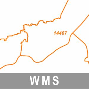 Postleitzahlenbereiche Brandenburg mit Berlin (WMS)