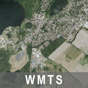 Digitale Orthophotos 20cm Bodenauflösung Farbe Brandenburg mit Berlin (WMTS)