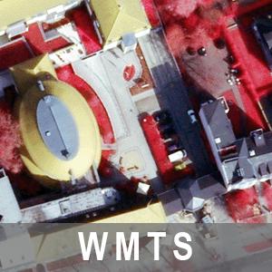 Digitale Orthophotos 20cm Bodenauflösung Farbinfrarot (WMTS_BB_DOP20cir)