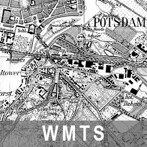 Karten des Deutschen Reiches 1 : 25 000 - Messtischblatt (WMTS_BB_DR25)