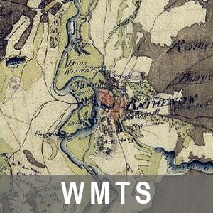 Digitale Topographische Karte 1 : 50 000 Schmettausches Kartenwerk Brandenburg (WMTS_BB_SCHMETTAU)